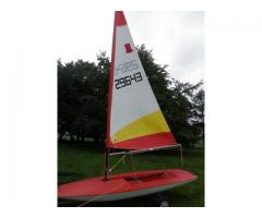 Topper Hull and Sail number 29643